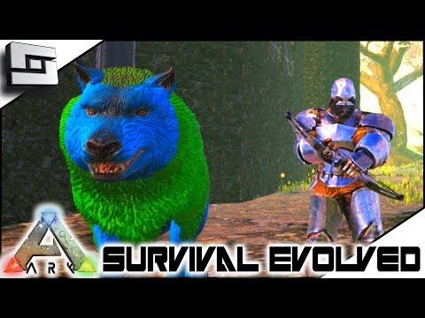 SUPER GAMMA DIREWOLF TAME! ARK: Survival Evolved - E4 ( Modded Ark Transformation Mod)