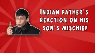 RJ Naved Prank Call 12 - Indian father's reaction on his son's mischief