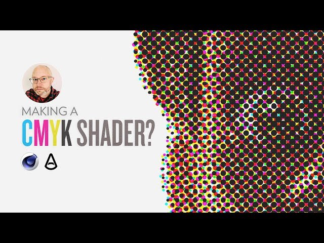 Making a CMYK 4-Color Shader in Arnold | Greyscalegorilla