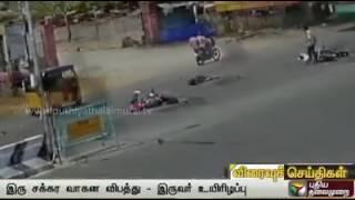 bike accident at chennai ecr road