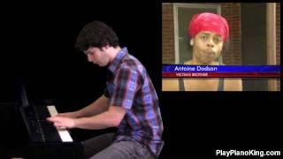 Bed Intruder Song - Piano Cover [Ryan Jones]