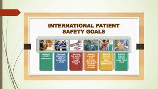 video International Patient Safety Goals