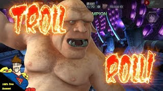 Beware of the TROLL ROLL in Marvel Contest of Champions