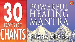 Day 20 - Powerful Healing Mantra - PRANA APANA - 30 Days of Chants
