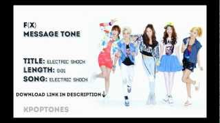 (Message Tone) f(x) - Electric Shock