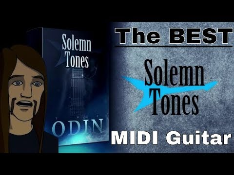 MIDI Metal: The Best MIDI Guitar 2017 [The Odin from Solemn Tones]