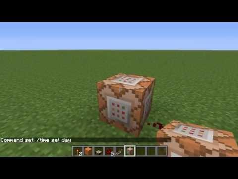 Как сделать день в minecraft фото 943