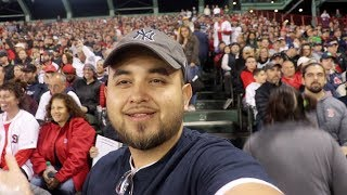 WEARING YANKEES BLUE AT FENWAY Redsox vs NY Yankees