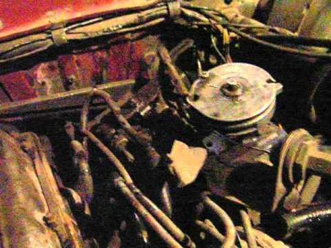Old D24 on volvo 244 engine idle