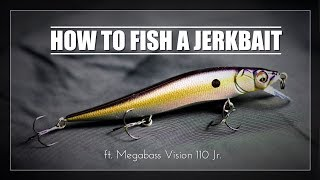 How to Fish a Jerkbait ft. Megabass Vision 110 Jr.