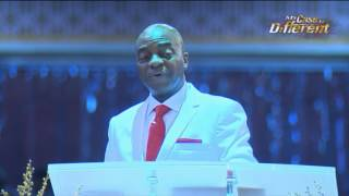 Bishop OYEDEPO @ BREAKING INVISIBLE BARRIERS (1st) SERVICE May 21,  2017