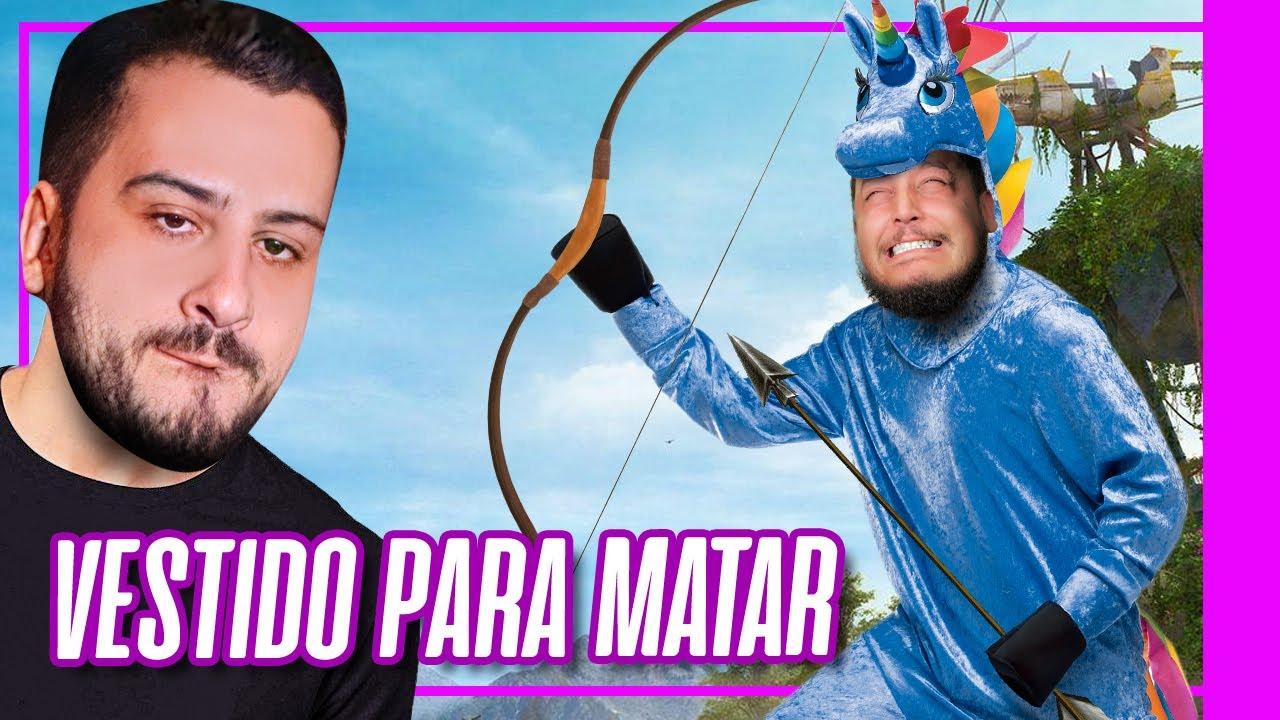 NINJA VESTIDO DE UNICÓRNIO TACA O TERROR - Le Ninja