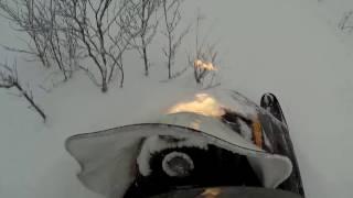 Тайга Патруль 550 SWT Покатушки по глубокому снегу