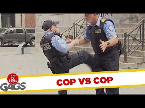 Cop VS Cop Prank !