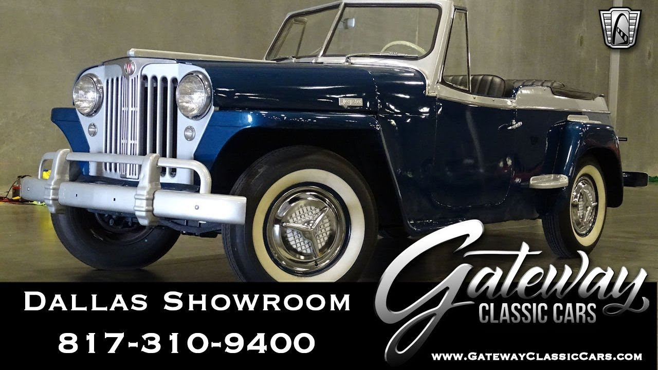 1948 Willys Jeepster #939-DFW Gateway Classic Cars of Dallas