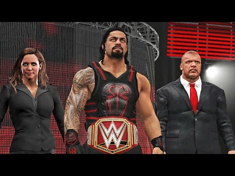WWE 2K17 Custom Story - Roman Reigns Joins The Authority! 😈😈