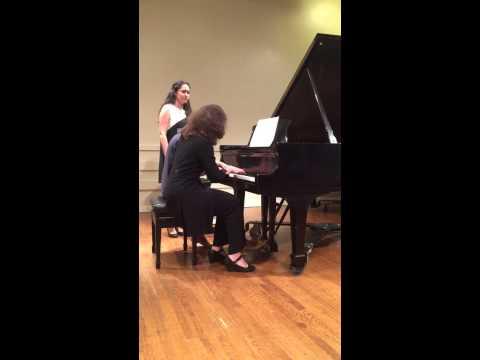 Irina Nuzova & Nastassia Maes concert 17 May 2015 Lucy Moses School