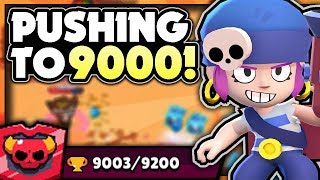 PUSHING To 9000 TROPHIES With PENNY In SHOWDOWN! - Max Penny Showdown Gameplay! - Brawl Stars