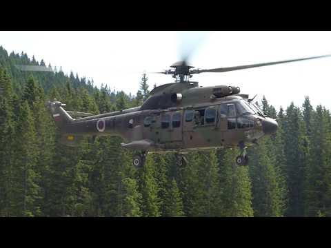 AS532 AL cougar take off