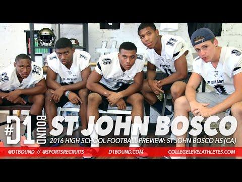 St. John Bosco 2016 HSFB Preview: Re-al Mitchell, Terrell Bynum, Jaiden Woodbey, Berkeley Holman+