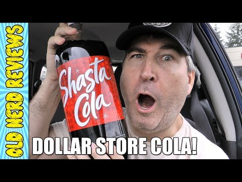 Cola From The Dollar Store REVIEW (Eating The Dollar Stores)
