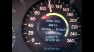Mercedes Benz E220 cdi w211 fuel consumption,potrosnja goriva evro dizel