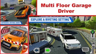 Multi Floor Garage Driver - App Check - iPhone / iOS Game - Play with Games - Simulator