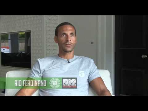 Interview with Rio Ferdinand about the Maestrio charity match