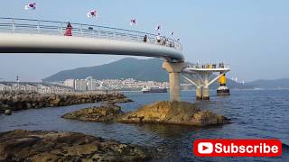 Sea view in Busan South Korea