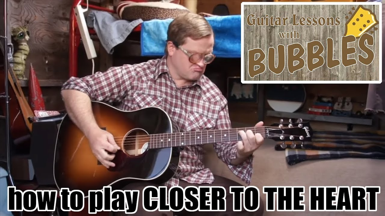 Download Guitar Lessons with Bubbles - RUSH's Closer to the Heart (SwearNet.com Sneak Peek)