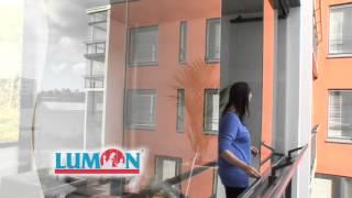 Безрамное остекление балконов Lumon: как легко открываются окна(, 2014-04-25T10:43:39.000Z)