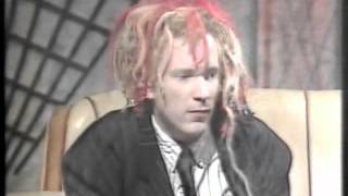 JOHNNY ROTTEN  rare! late night chat! 1988 (ITV Show) john lydon pil