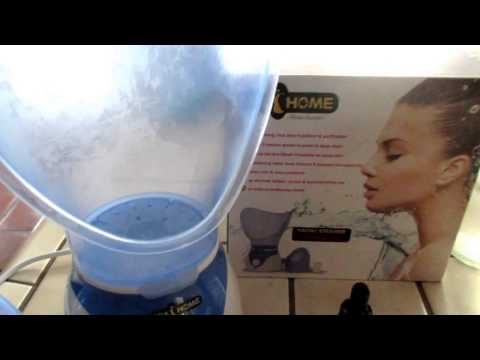 How to clean your nose pores with Spa at Home Facial Steamer Review with Frankincense Essential oil