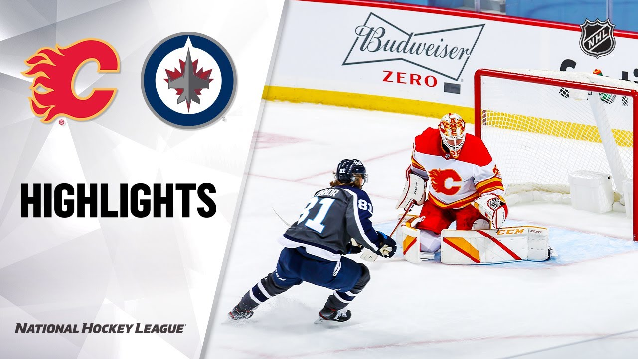 Flames vs. Jets 2/4/21 | NHL Highlights - NHL