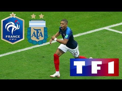 FRANCE 4-3 ARGENTINE / Huitième de finale CDM / 30 juin 2018 (TF1)