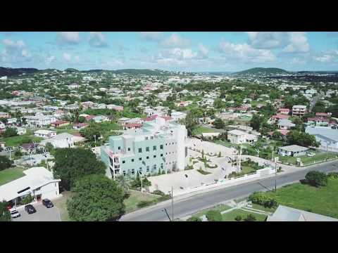 #Drone Footage Interior of St. John's #Antigua