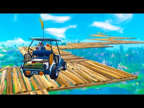 Impossible ATK Stunt Race in Fortnite Battle Royale