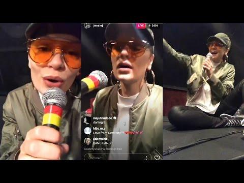 Jessie J | Instagram Live Stream | 12 May 2017 [ Singing Live Without Auto Tone ]