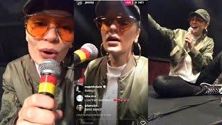 jessie j instagram live stream 12 may 2017 singing live without auto tone