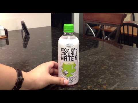 100% Raw Coconut Water by Harmless Harvest: Review