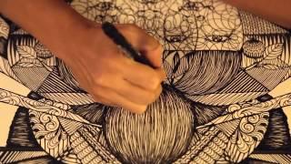Paper-cut artist Hiromi Moneyhun