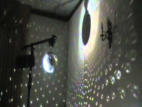 Disco Ball Mirror Light Effect Dj Robert Navarre Slow