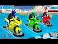 Bike Racing Games - Water Surfer Moto Bike Race - Gameplay Android free games