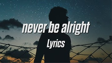 SEON - never be alright [prod. kado] (Lyrics / Lyric Video)