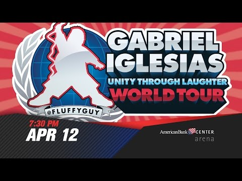Gabriel Iglesias Unity Through Laughter - April 12, 2015 - American Bank Center Arena