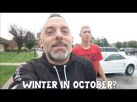 WINTER IN OCTOBER? / VLOG