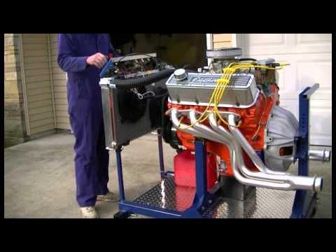 Engine Start / Test / Run Stand - Build your own - YouTube