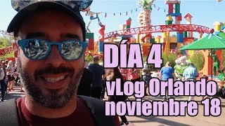 vlog Orlando Noviembre 2018  Dia 4: Hollywood Studios y Disney Springs