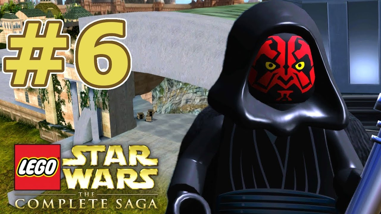 Lego Star Wars The Complete Saga Walkthrough Chapter 6 Darth Maul