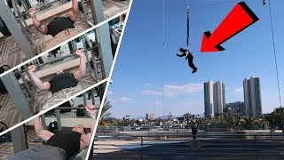 BENCH-OFF vs FURIOUS PETE, TERRON BECKHAM (LOSER JUMPS OFF STRATOSPHERE)